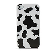 Hard Protective Cover Case for iPhone 4 (Black and White)