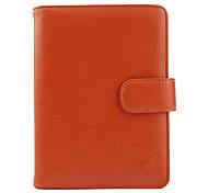 Premium PU Leather Case for Kindle 4 (Orange)