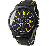 Men's Watch Sports Rubber Band Wrist Watch