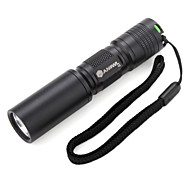 LED Flashlights / Handheld Flashlights LED 1 Mode 180 Lumens Rechargeable / Tactical / Self-Defense / Compact Size / Small SizeCree XR-E