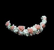 Women's Flower Girl's Foam Headpiece-Wedding Special Occasion Flowers