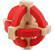 Magic Cube Alien Smooth Speed Cube Red Wood Toys