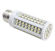 E26/E27 6 W 112 SMD 3528 420 LM Warm White Corn Bulbs AC 220-240 V
