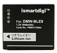 Ismart Digital Camera Battery for Panasonic DMC-GF3 DMC-GF3C-K
