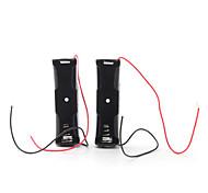 box batteria per due batterie 23a (12v, nero)