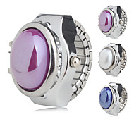 Women's Alloy Analog Ring Watch (Assorted Colors)