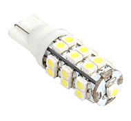 T10 1W 25xSMD LED 40LM 5500K White Light LED (12V)