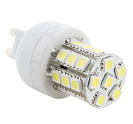 4W G9 Bombillas LED de Mazorca T 27 SMD 5050 300 lm Blanco Natural AC 100-240 V