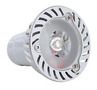 Lâmpada de Foco GU10 1 W 100 LM 3000K K Branco Quente 1 LED de Alta Potência AC 85-265 V MR16