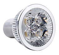 4W GU10 LED Spotlight MR16 4 High Power LED 360 lm Warm White AC 85-265 V