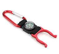 3-в-1 многофункциональный инструмент компас карабина с факелом держатель