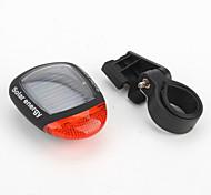 la energía solar recargable de seguridad para bicicleta luz trasera