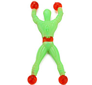 Mini Size Plastic Flexible Spider Man (Assorted Colors)