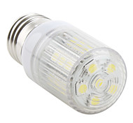 E26/E27 4W 27 SMD 5050 300 LM Natural White LED Corn Lights AC 220-240 V