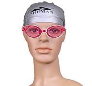 unisex sm217 anti-nevoeiro óculos de natação chapeamento