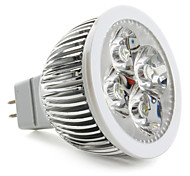 GU5.3(MR16) 4W 4 High Power LED 360 LM Natural White LED Spotlight DC 12 V