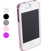 Diamond Style Metal Bumper Frame for iPhone 4 and 4S (Assorted Colors)
