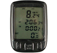 Digital LCD Cycle Computer Bicycle Speedometer-563