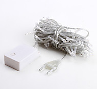 10M 100-LED Warm White 8 Sparking Modes Christmas Fairy String Light (220V)