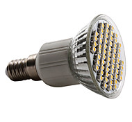 E14 / GU10 / E26/E27 60 SMD 3528 180 LM Warm White / Natural White PAR38 LED Spotlight AC 220-240 V