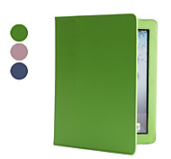 double étui de protection et support pour iPad 2/3/4 (couleurs assorties) Leaether pu