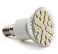 4W E14 Focos LED PAR38 24 SMD 5050 150 lm Blanco Cálido AC 100-240 V