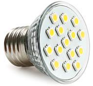 Spot Lampen PAR E26/E27 2.5 W 200 LM 2800K K 15 SMD 5050 Warmes Weiß AC 220-240 V