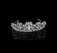 Fashion Cubic Zirconia And Rhinestone Bridal Tiara