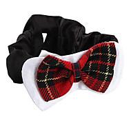 corbata de moño elegante para perros (mediana, 25-40cm)
