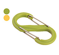 Outdoor Strong Plastic Doubel Sides Carabiner