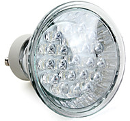 GU10 1W 21 High Power LED 105 LM Natural White MR16 LED Spotlight AC 220-240 V