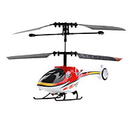 2-kanaals super power mini helicopter (rood)