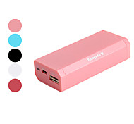 6000mAh Portable Power for iPhone, iPad, Sumsang, HTC, Nokia, PSP, NDS(Assorted Colors)