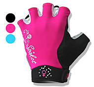 Half Finger Motorbikes Gloves with Wrist Protection for Women