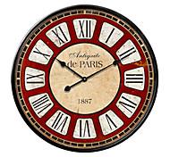 ferro forjado de estilo mediterrânico caracterizado parede tamanho do relógio de grandes