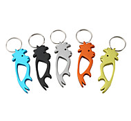 Parrot Shaped Bottle Opener Keychain
