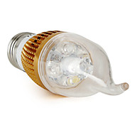 E26/E27 4 W 4 360 LM Natural White CA35 Candle Bulbs V