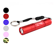 LED Flashlights / Handheld Flashlights LED 1 Mode Lumens Waterproof / Super Light / Compact Size / Small Size Others AA Smiling Shark ,