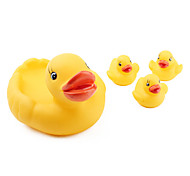 Mummy and Baby Ducks Family Bath Toys (Yellow)