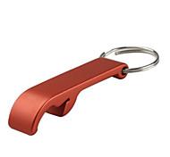 Standard Aluminum Bottle Opener Keychain (Random Color)
