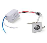 Lâmpada de Teto 1 W 100 LM 6000K K Branco Natural 1 LED de Alta Potência AC 85-265 V