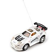 Radio de 40 MHz de control de carreras de coches (blanco)