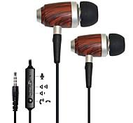 kanen basse stéréo écouteurs intra-auriculaires w / télécommande et micro pour iphone 6/6, plus
