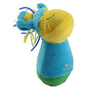 pazza cervi stile morbido cigolio giocattolo pet per cani (14 x 10cm)