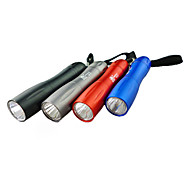 Portable Slim 1-LED Flashlight (1xAA, Random Color)