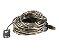USB Extension Cable with Built-in Signal Amplifier Chips