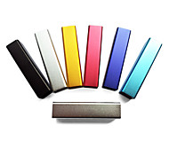 Portable External Battery power bank for iphone 6/6 plus/5/5S/Samsung S4/S5/Note2 2200mAh