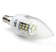 3W E14 Luces LED en Vela C35 48 SMD 3528 200 lm Blanco Natural V