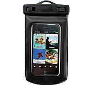 Waterproof Bag Case with Strap for Cell Phone(Black)