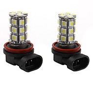 27 * h11 5050 SMD LED blanche signal lumineux voiture
